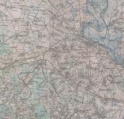 Dio topografske karte iz 1910.g